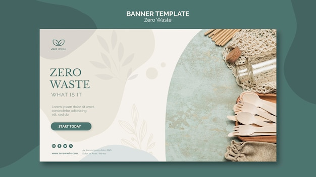 Szablon Transparent Zero Produktów Odpadowych Darmowe Psd