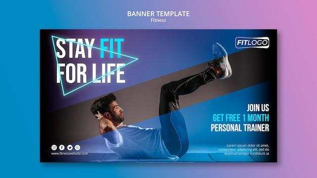 Szablon Transparentu Trenera Fitness Darmowe Psd