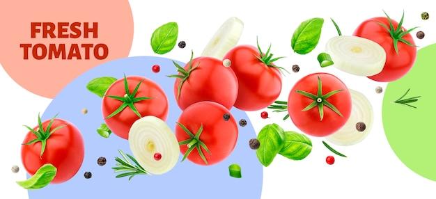 Transparent świeżych Pomidorów Premium Psd