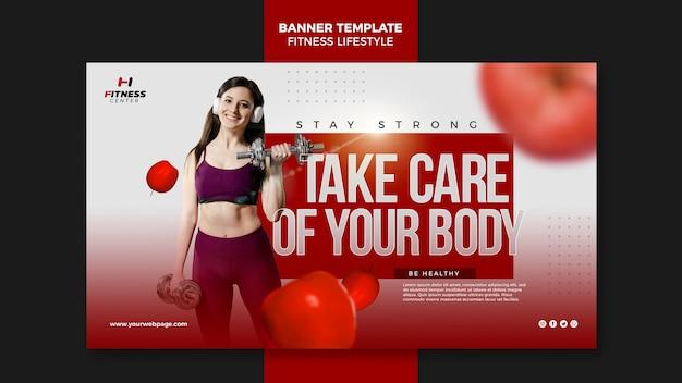 Transparent Szablon Stylu życia Fitness Darmowe Psd