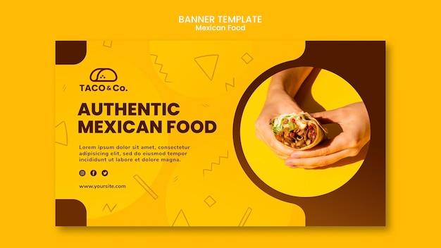 Ulotka Dotycząca Restauracji Meksykańskiej Darmowe Psd
