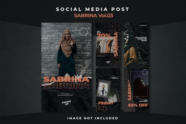 Ulotka Square Social Media Feed Story Poster Instagram Premium Psd
