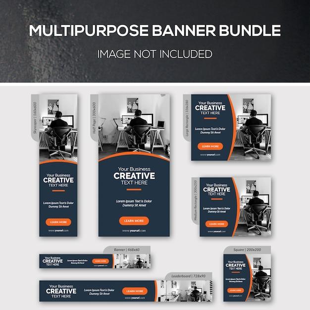 Uniwersalny Pakiet Bannerów Premium Psd