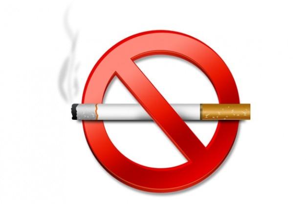 Zakaz palenia znak psd i ikony Darmowe Psd