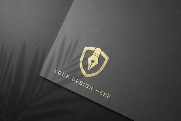 Zamknij Się Na Projekt Makiety Logo Firmy Premium Psd