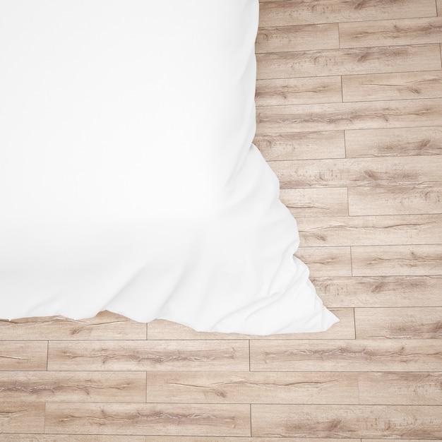 Zbliżenie Kołdry Lub Kołdry Białe łóżko Darmowe Psd