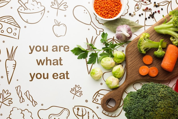 Zdrowe Warzywa Do Gotowania Darmowe Psd