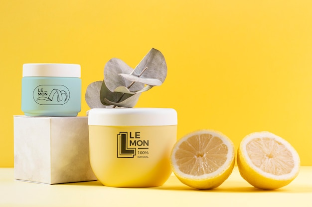Zestaw Kosmetyków Z Naturalnym Sokiem Z Cytryny Darmowe Psd