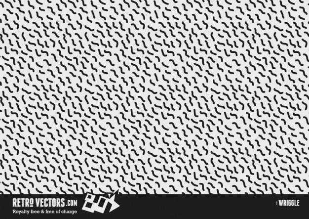 1980 Repeat Pattern Darmowych Wektorów