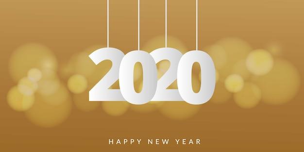 2020 Nowy Rok Premium Wektorów