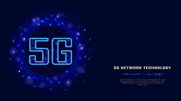 5g Bezprzewodowe Połączenie Internetowe Wifi Z Danymi Cyfrowymi. Premium Wektorów