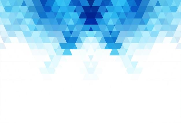 Abstrakcjonistyczna Błękitna Geometryczna Kształta Tła Ilustracja Darmowych Wektorów