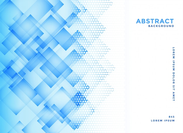 Abstrakcjonistyczna Błękitna Przekątna Obciosuje Tło Wektor Darmowych Wektorów