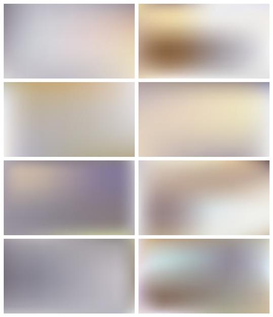 Abstrakcjonistycznej Mgły Złoty Szary Tło. Premium Wektorów