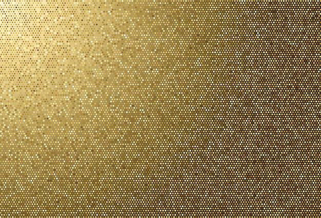 Abstrakcjonistycznej Tkaniny Tekstury Złoty Kropkowany Tło Darmowych Wektorów