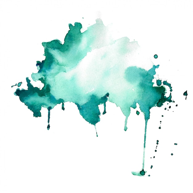 Abstrakcjonistyczny Akwareli Plamy Bryzgu Tekstury Tło Darmowych Wektorów