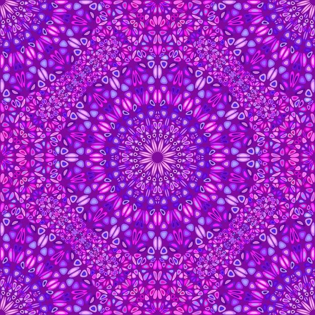 Abstrakcjonistyczny Bezszwowy Geometryczny Mandala Ornamentu Wzór Premium Wektorów