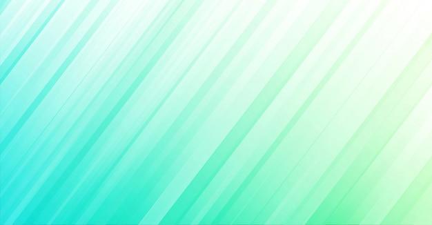 Abstrakcjonistyczny Błękitnej Zieleni Tło Geometryczny Styl Premium Wektorów