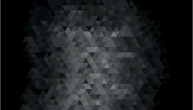 Abstrakcjonistyczny Ciemny Geometryczny Kształta Tło Darmowych Wektorów