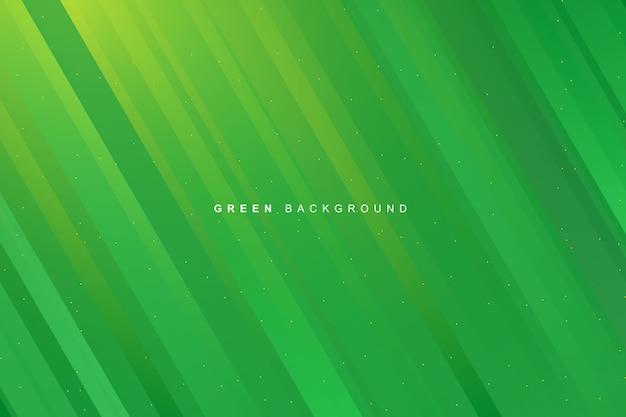 Abstrakcjonistyczny Dynamiczny Nowożytny Wibrujący Zielony Gradient Paskuje Tekstury Tło Premium Wektorów