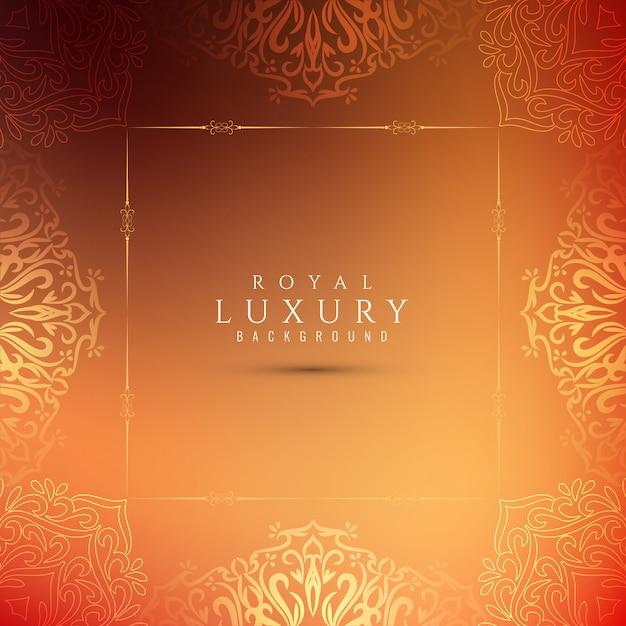 Abstrakcjonistyczny elegancki luksusowy piękny tło Darmowych Wektorów