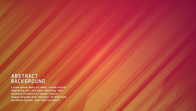 Abstrakcjonistyczny Gradientowy Geometryczny Tło Szablon Premium Wektorów
