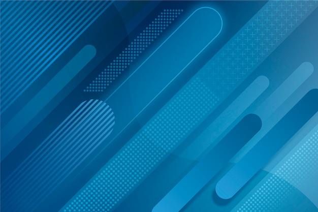 Abstrakcjonistyczny Klasyczny Błękitny Temat Dla Tła Darmowych Wektorów