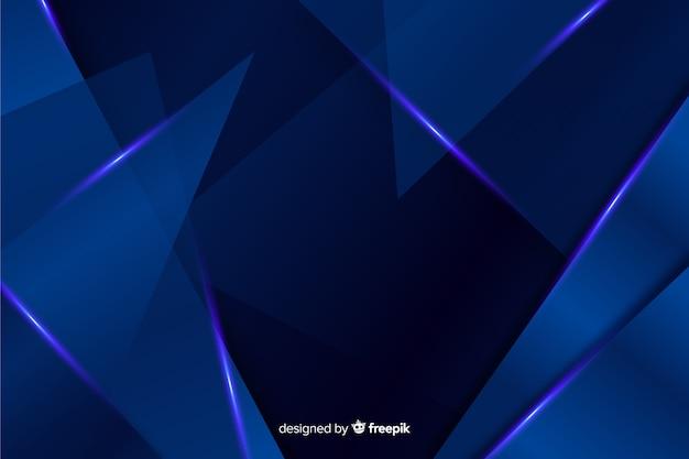 Abstrakcjonistyczny kruszcowy błękitny dekoracyjny tło Darmowych Wektorów