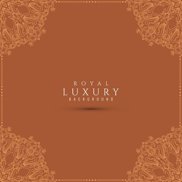 Abstrakcjonistyczny luksusowy piękny dekoracyjny tło Darmowych Wektorów