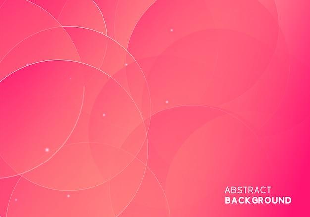 Abstrakcjonistyczny nowożytny różowy tło projekt Premium Wektorów