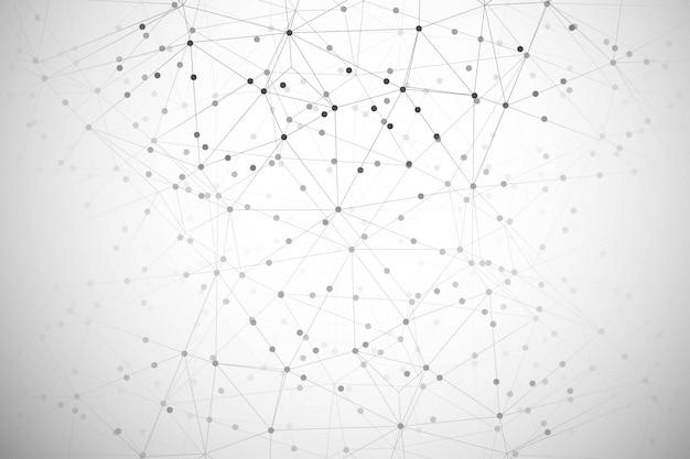 Abstrakcjonistyczny Technologia Cyfrowa Wieloboka Tło Darmowych Wektorów