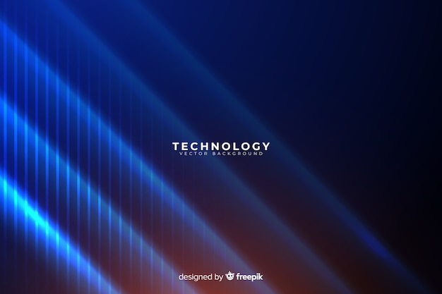 Abstrakcjonistyczny technologii tło Darmowych Wektorów