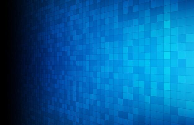 Abstrakcjonistyczny Tło Błękitny Rozjarzony Prostokąta Kwadrat Premium Wektorów