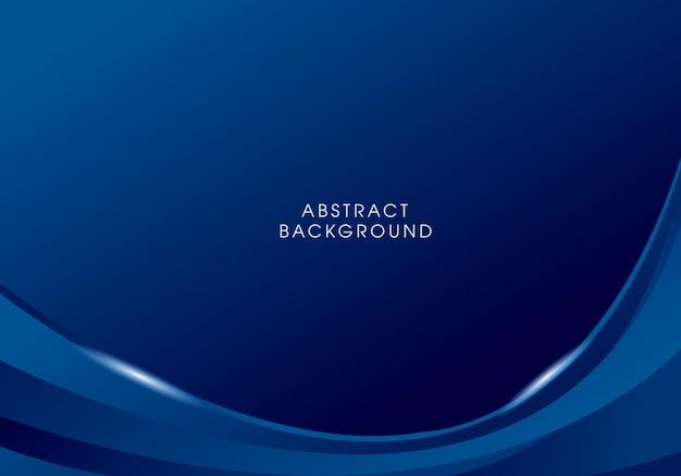 Abstrakcjonistyczny wektorowy błękitny tło projekt Premium Wektorów