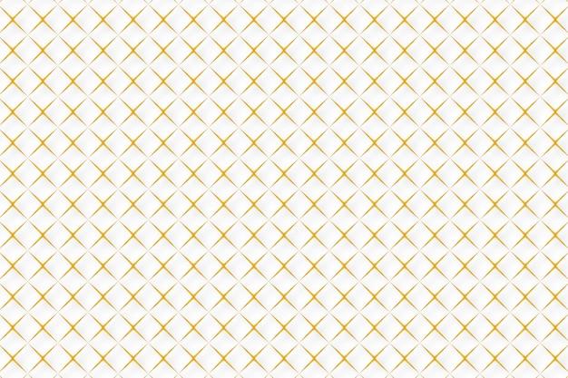 Abstrakcjonistyczny Złoty Geometryczny Deseniowy Tło Darmowych Wektorów