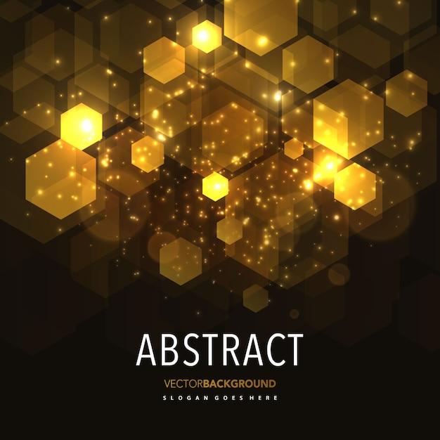 abstrakcyjna świeci geometryczne tła Darmowych Wektorów
