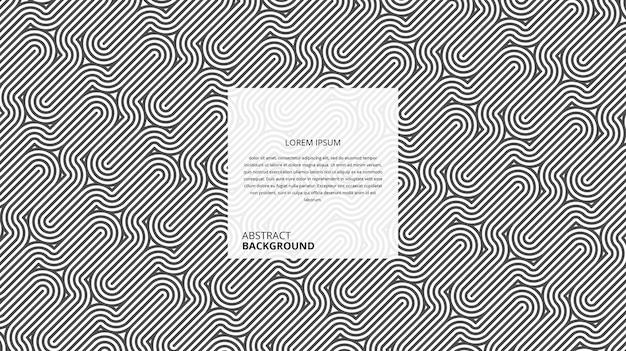 Abstrakcyjne Geometryczne Ukośne Krzywe Linie Wzór Premium Wektorów