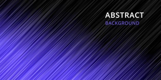 Abstrakcyjne Tło. Tapeta W Paski W Czarno-fioletowym Kolorze Premium Wektorów