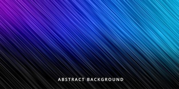 Abstrakcyjne Tło. Tapeta W Paski W Kolorze Granatowym Premium Wektorów