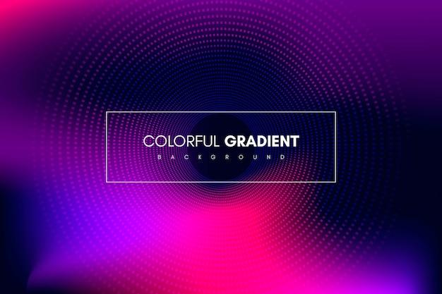 Abstrakcyjny kolorowy gradientowy pasek Premium Wektorów