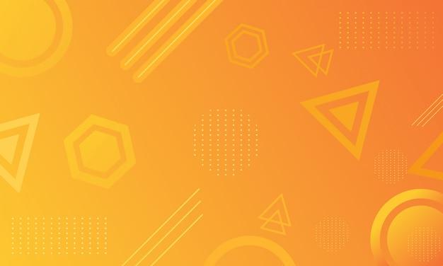 Abstrakcyjny kształt gradientu tła Premium Wektorów