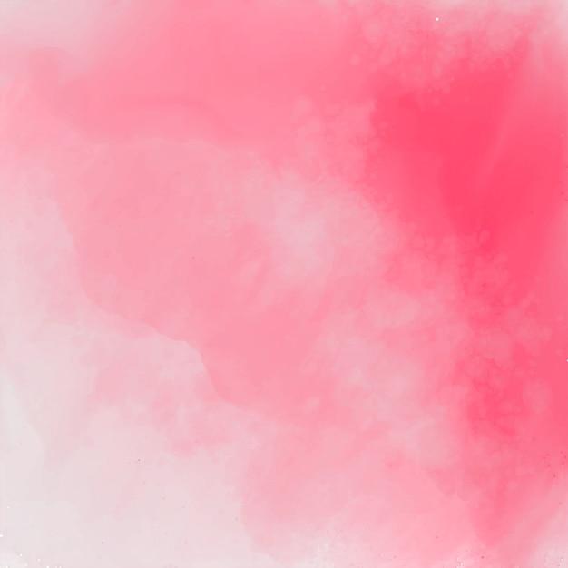 Abstrakta różowy elegancki akwareli tekstury tło Darmowych Wektorów