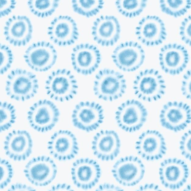 Akwarela Geometryczny Wzór Shibori Darmowych Wektorów