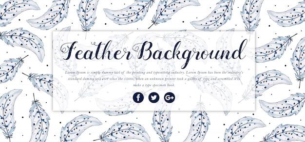 Akwarela kwiatowy transparent wesołych świąt Premium Wektorów