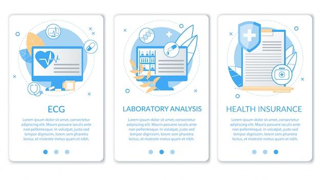 Analiza Laboratoryjna Napisu Jasny Transparent. Premium Wektorów