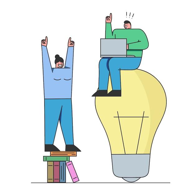 Analiza Rozwiązań I Uruchomienie Zespołu Kreatywnego Nowego Biznesu Premium Wektorów