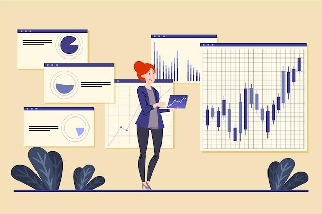 Analiza Rynku Akcji Darmowych Wektorów