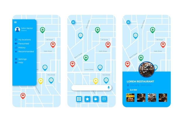 Aplikacja Lokalizacji Darmowych Wektorów