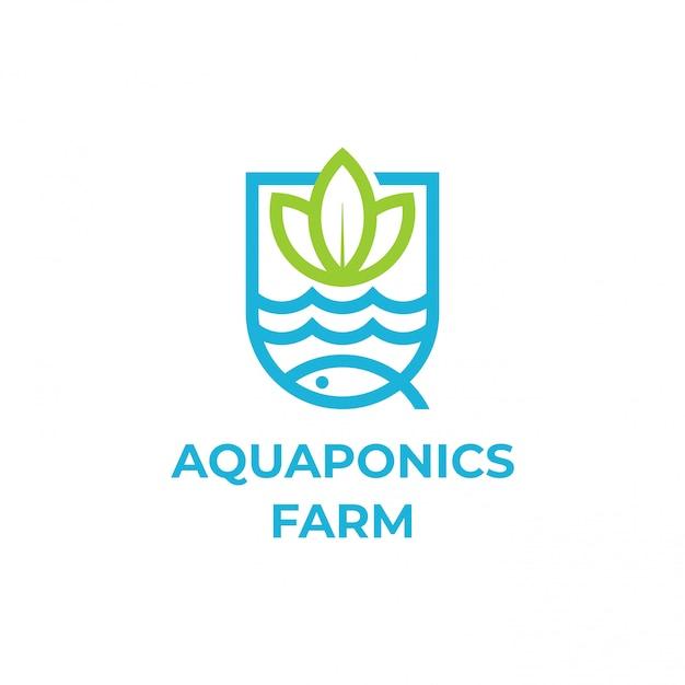Aquaponics Premium Wektorów