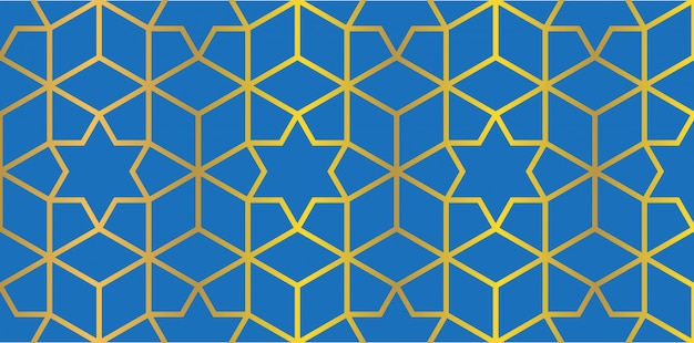 Arabska Tekstura Tło Premium Wektorów